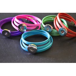 Bracelet Multilayers Cuir