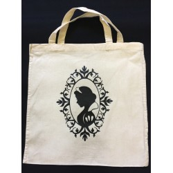 Tote Bag inspiration Blanche Neige